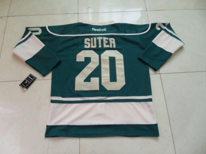 NHL Minnesota Wild 20 Ryan Suter Green Jersey