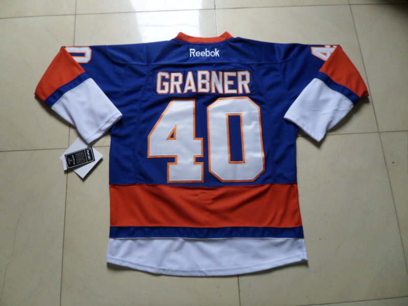 NHL New York Islanders 40 Grabner blue