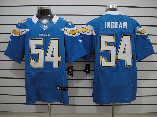 San Diego Chargers 54 Ingram SkyBlue Elite nike jerseys