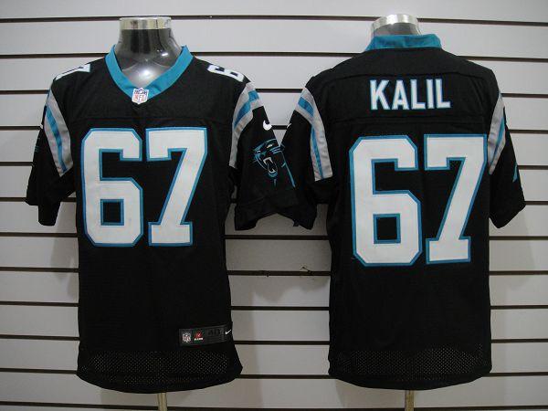 Carolina Panthers 67 Kalil Black Elite nike jerseys