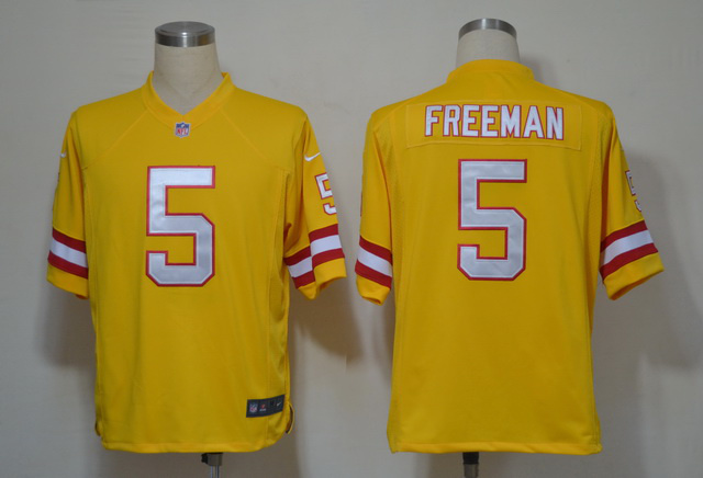 Tampa Bay Buccaneers 5 Josh Freeman Yellow Game nike jerseys