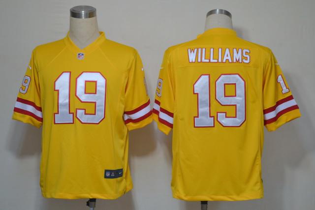 Tampa Bay Buccaneers 19 Mike Williams Yellow Game nike jerseys