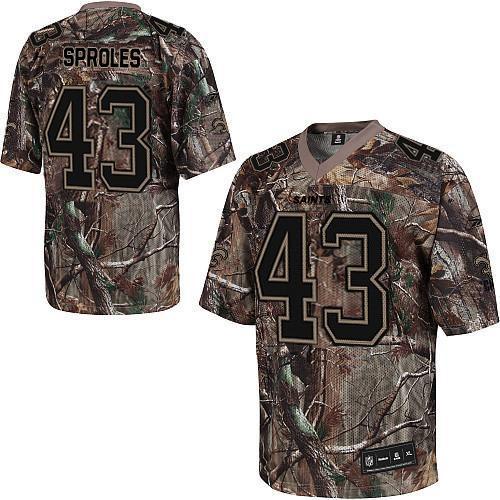 New Orleans Saints 43 Darren Sproles nike camo jerseys