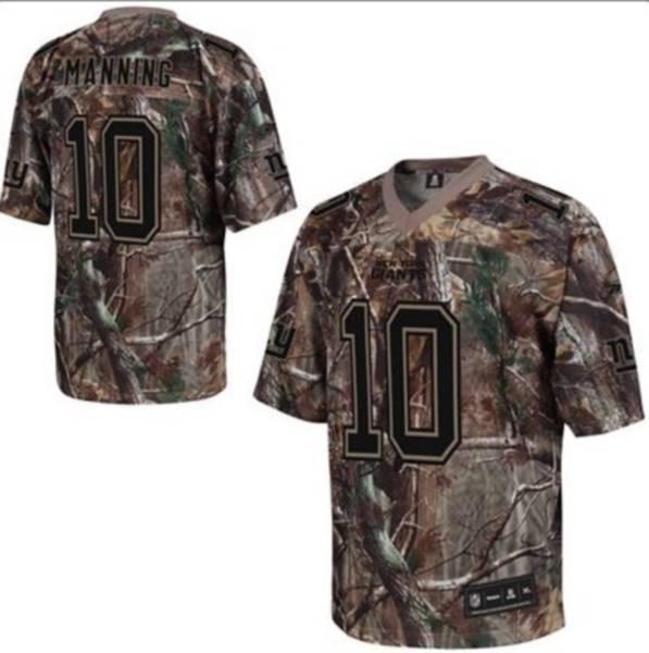 New York Giants 10 Eli Manning nike camo jerseys