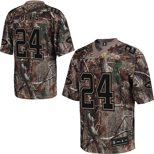 New York Jets 24 Darrelle Revis nike camo jerseys