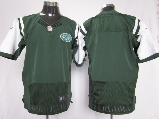 New York Jets blank green Elite nike jerseys