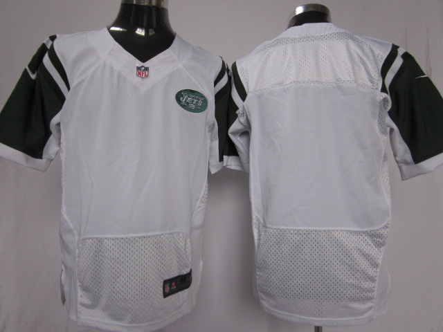 New York Jets blank white Elite nike jerseys