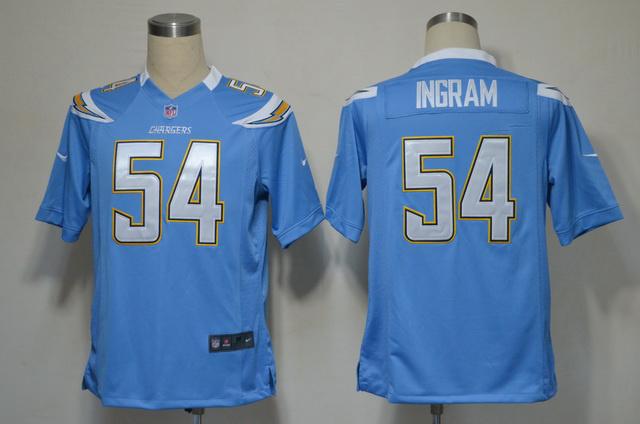 San Diego Chargers 54 Ingram Blue Game nike jerseys