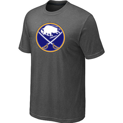 NHL Buffalo Sabres Big Tall Logo D.Grey T-Shirt