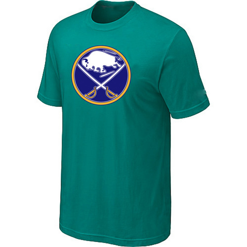 NHL Buffalo Sabres Big Tall Logo Green T-Shirt