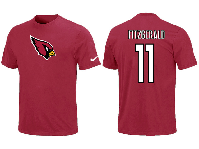 Nike Arizona Cardinals Larry Fitzgerald Name Number T-Shirt
