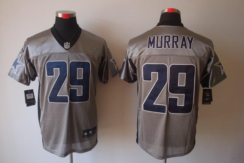 Dallas Cowboys 29 DeMarco Murray Nike Gray shadow jerseys