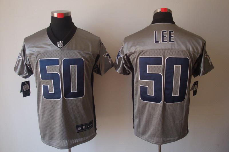 Dallas Cowboys 50 Sean Lee Nike Gray shadow jerseys