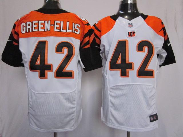 Cincinnati Bengals 42 Green-Ellis White Elite nike jerseys