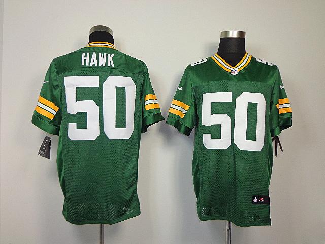 Green Bay Packers 50 Hawk Green Elite nike jerseys
