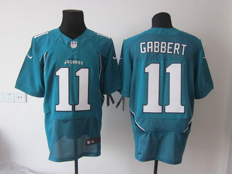 Jacksonville Jaguars 11 Blaine Gabbert green Elite nike jerseys