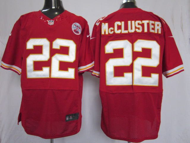 Kansas City Chiefs 22 mccluster red Elite nike jerseys