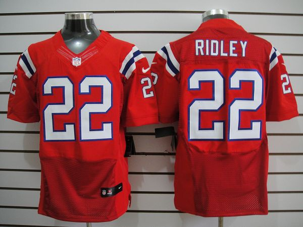 New England patriots 22 Ridley Red Elite nike jerseys