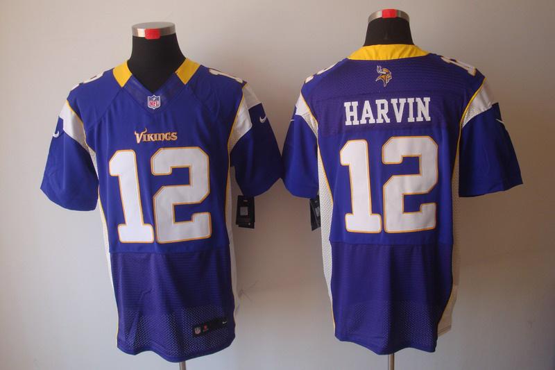 Minnesota Vikings 12 Percy Harvin Purple Elite nike jerseys