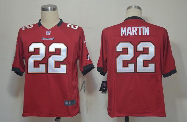 Tampa Bay Buccaneers 22 Doug Martin Red Game nike jerseys