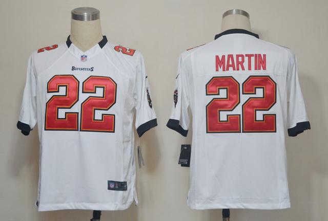 Tampa Bay Buccaneers 22 Doug Martin White Game nike jerseys