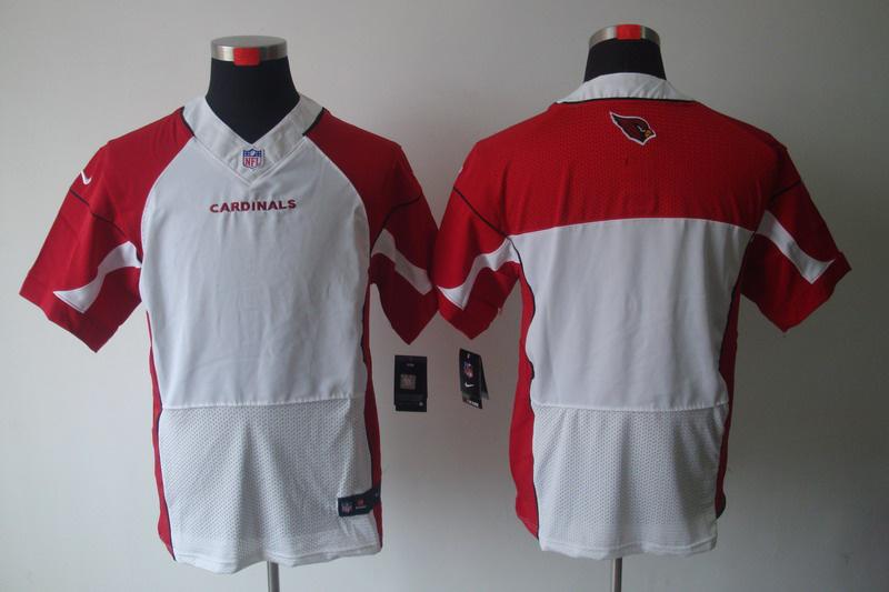 Arizona Cardicals Blank white Elite Nike Jerseys