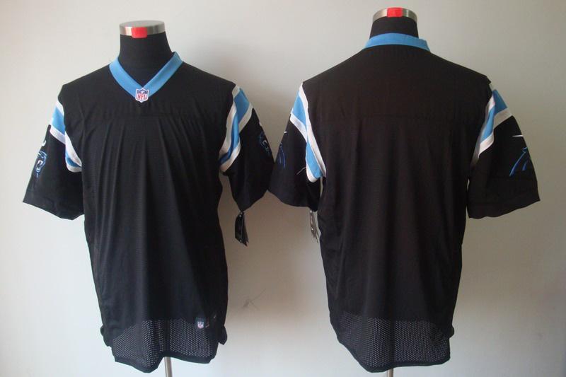 Carolina Panthers Blank black Elite Nike Jerseys
