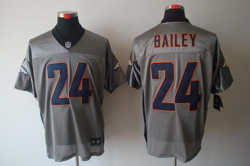 Denver Broncos 24 Bailey Nike Gray shadow jerseys