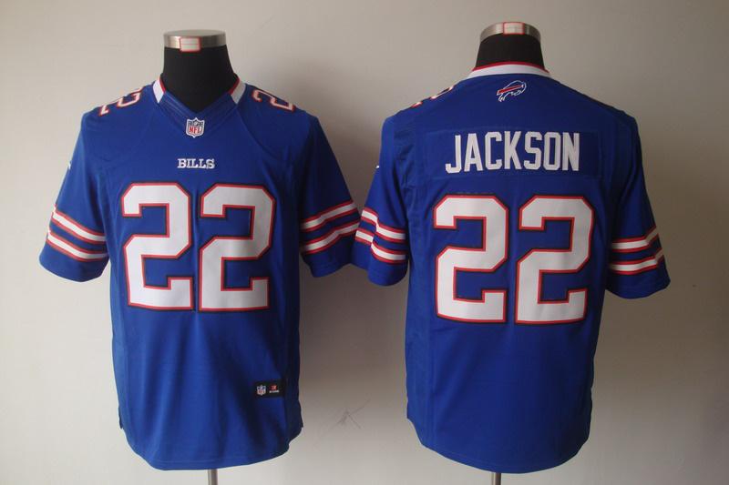 Buffalo Bills 22 Jackson Blue Nike Limited Jersey