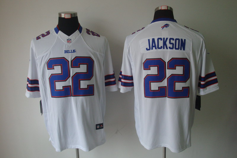 Buffalo Bills 22 Jackson White Nike Limited Jersey