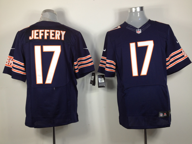 Chicago Bears 17 Jeffery blue Elite Nike jerseys