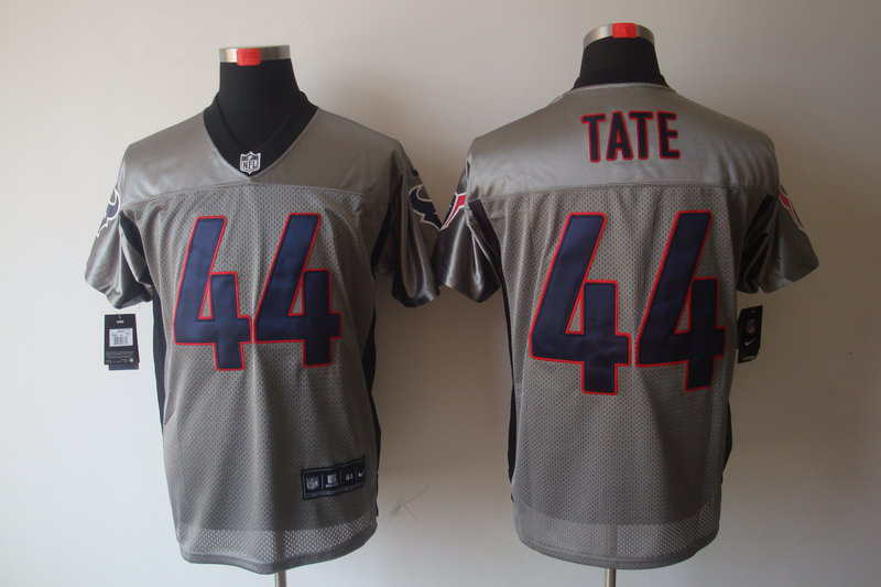 Houston Texans 44 Tate Nike Gray shadow jerseys