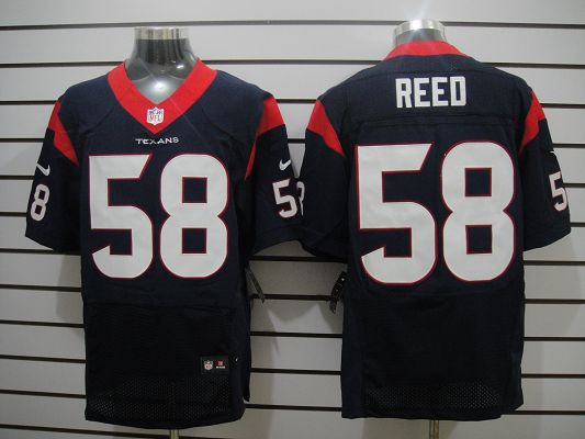Houston Texans 58 Reed Dk.Blue Elite Nike jerseys