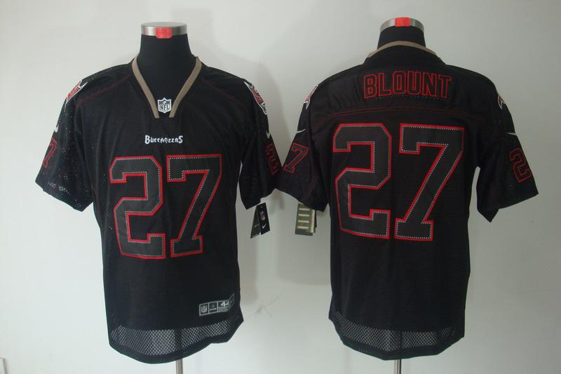 Tampa Bay Buccaneers 27 Blount Nike Lights Out Black Elite Jerseys