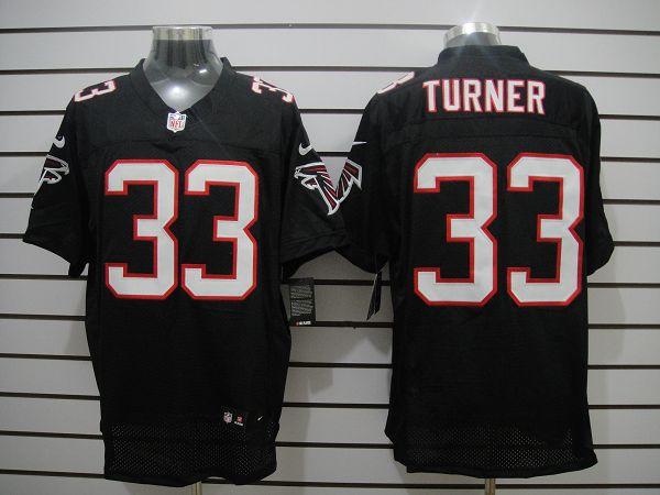 Atlanta Falcons 33 Turner Black Elite Nike jerseys