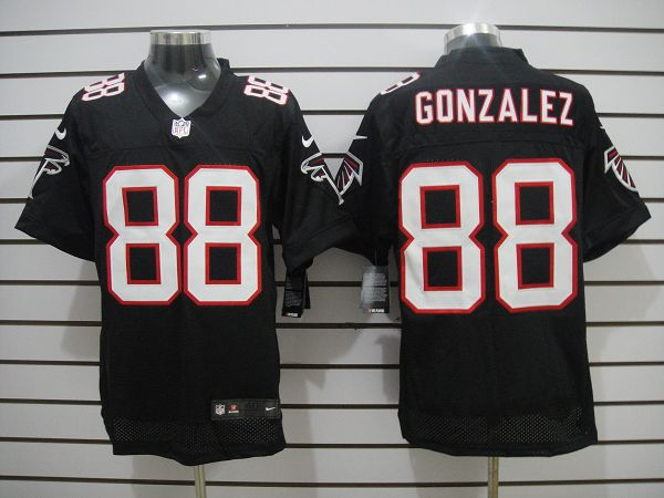 Atlanta Falcons 88 Gonzalez Black Elite Nike jerseys
