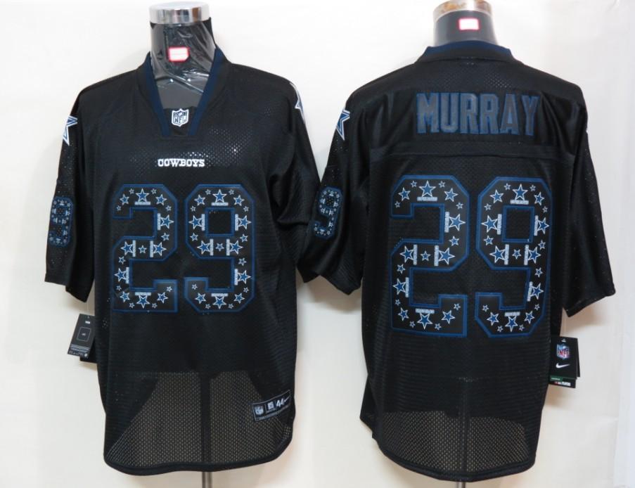 Dallas cowboys 29 Murray Nike Lights Out Black Elite Jerseys