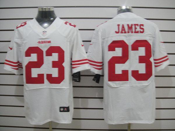 San Francisco 49ers 23 James White Elite Nike jerseys