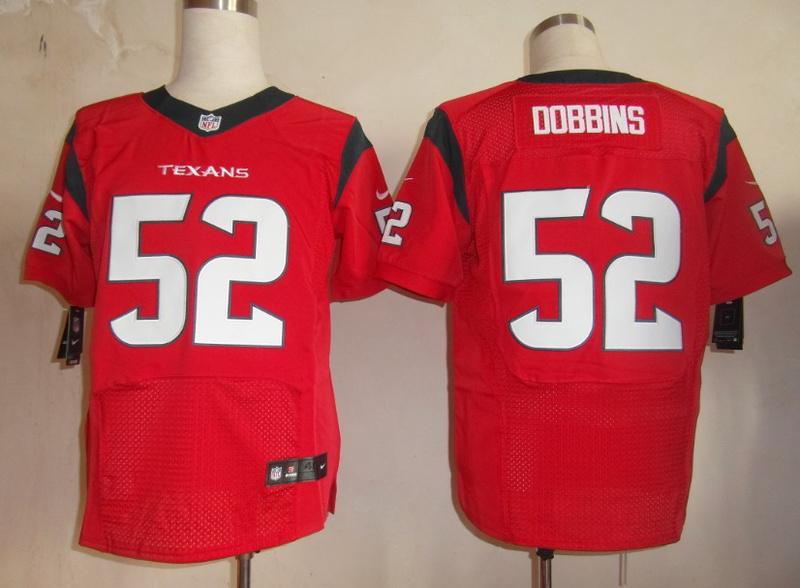 Houston Texans 52 Dobbins red Elite Nike jerseys