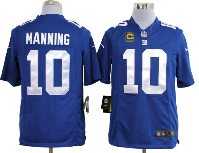 New York Giants 10 Manning Blue1 Game Nike jerseys