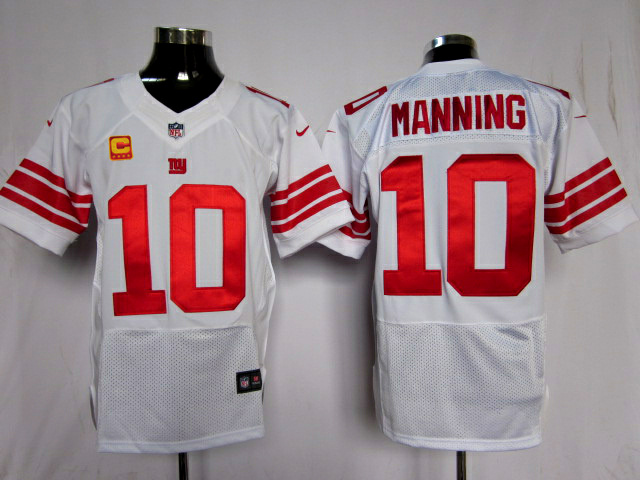 New York Giants 10 Manning White1 Elite Nike jerseys