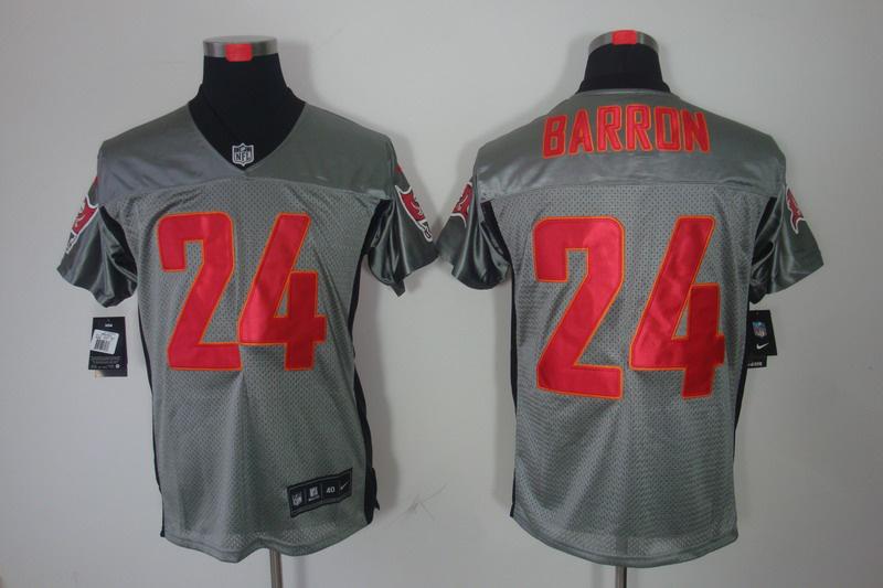 Tampa Bay Buccaneers 24 Barron Nike Gray shadow jerseys