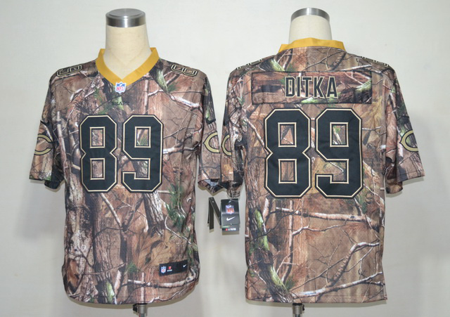 Chicago Bears 89 DITKA Navy Camo Elite Nike jerseys
