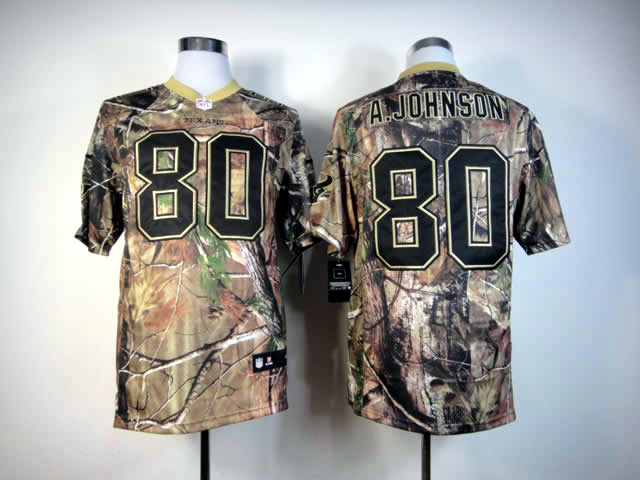Houston Texans 80 A.johnson Camo Elite Nike jerseys