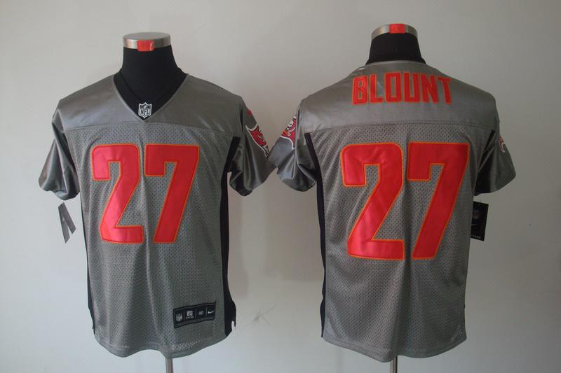 Tampa Bay Buccaneers 27 Blount Nike Gray shadow jerseys