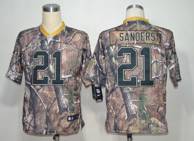 Atlanta Falcons 21 Deion Sanders Camo Elite Nike jerseys