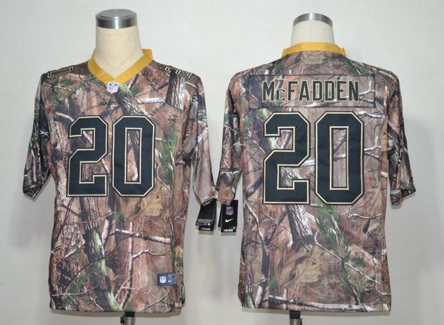 Oakland Raiders 20 Darren McFadden Camo Elite Nike jerseys