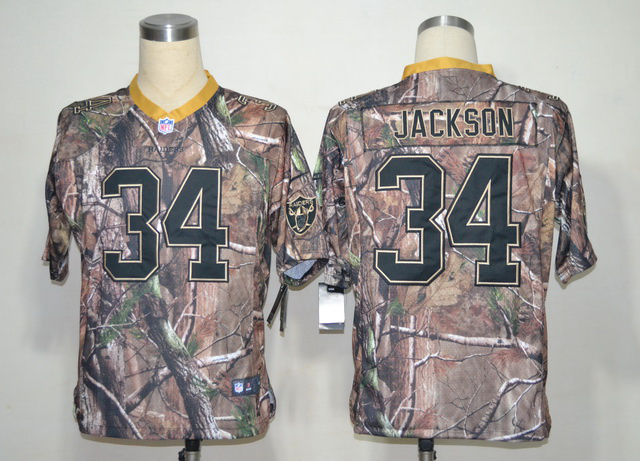 Oakland Raiders 34 Bo Jackson Camo Elite Nike jerseys