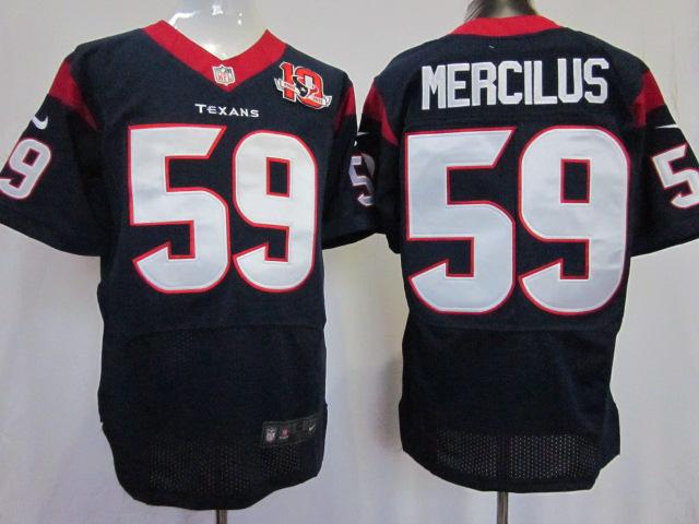 Houston Texans 59 Mercilus Blue 10TH Elite Nike jerseys