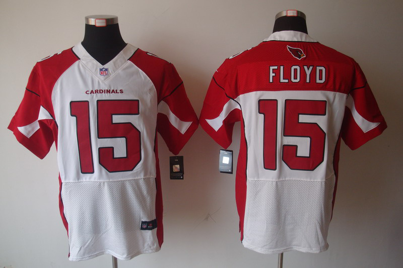 Arizona Cardicals 15 Floyd white Elite Nike jerseys